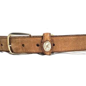 Vintage womens burberrys belt